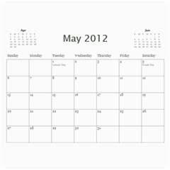 South African By Donny   Wall Calendar 11  X 8 5  (12 Months)   Ki5ro28ultrr   Www Artscow Com May 2012