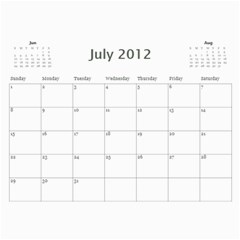 South African By Donny   Wall Calendar 11  X 8 5  (12 Months)   Ki5ro28ultrr   Www Artscow Com Jul 2012