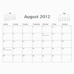 South African By Donny   Wall Calendar 11  X 8 5  (12 Months)   Ki5ro28ultrr   Www Artscow Com Aug 2012