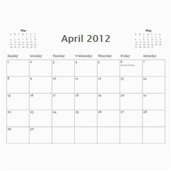 South African By Donny   Wall Calendar 11  X 8 5  (12 Months)   Ki5ro28ultrr   Www Artscow Com Apr 2012