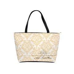 Shoulder Handbag: Minimalist1 By Jennyl   Classic Shoulder Handbag   Bhnbcwq327g8   Www Artscow Com Front