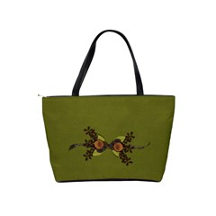 Shoulder Handbag: Green Memories By Jennyl   Classic Shoulder Handbag   4ma7y4yt2iw5   Www Artscow Com Back
