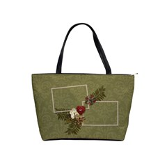 Shoulder Handbag: Christmas2 By Jennyl   Classic Shoulder Handbag   6o4ip4ni2c2l   Www Artscow Com Front
