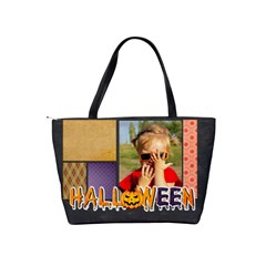 Halloween By Joely   Classic Shoulder Handbag   Rdjx8377q852   Www Artscow Com Back