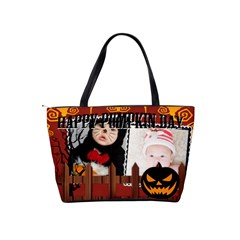 Halloween By Joely   Classic Shoulder Handbag   Olyqngstmhc1   Www Artscow Com Back