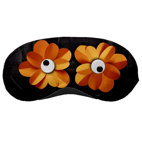 Flower Eyes Sleeping Mask By Mikki   Sleeping Mask   Yqu2aou7mn2s   Www Artscow Com Front