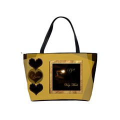 I Heart You Love Classic Shoulder Bag By Ellan   Classic Shoulder Handbag   Dtc0paphe1q1   Www Artscow Com Back
