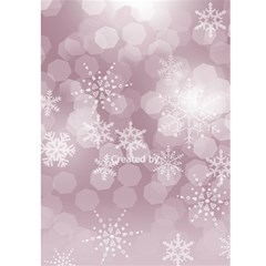Happy New Year Greeting 5x7 Card (pink) By Deborah   Greeting Card 5  X 7    Tdxv069tfq7l   Www Artscow Com Back Cover