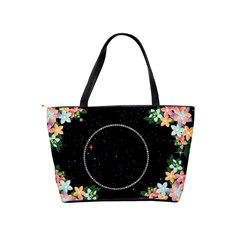 Flower And Diamond Shoulder Handbag By Kim Blair   Classic Shoulder Handbag   1211d6hqu6yk   Www Artscow Com Back