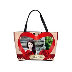 With Love By Joely   Classic Shoulder Handbag   0l8vdgopgdt2   Www Artscow Com Front