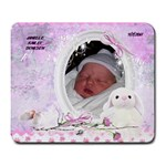 janelle mouse pad - Large Mousepad