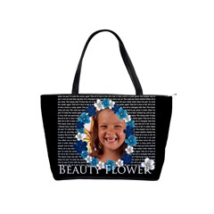 Beauty Flower By Joely   Classic Shoulder Handbag   D76xx18n6ox9   Www Artscow Com Front