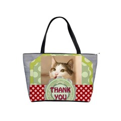 Thank You By Joely   Classic Shoulder Handbag   8we8jaojsied   Www Artscow Com Front
