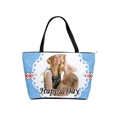 Happy Day By Joely   Classic Shoulder Handbag   Ar1mkfrcj1hm   Www Artscow Com Front