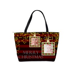 Merry Christmas By Joely   Classic Shoulder Handbag   Rcdr7ykjjkar   Www Artscow Com Back