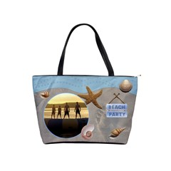 Beach Party Classic Shoulder Handbag By Lil    Classic Shoulder Handbag   W4u6i0uki9rw   Www Artscow Com Front