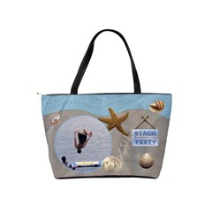 Beach Party Classic Shoulder Handbag By Lil    Classic Shoulder Handbag   W4u6i0uki9rw   Www Artscow Com Back