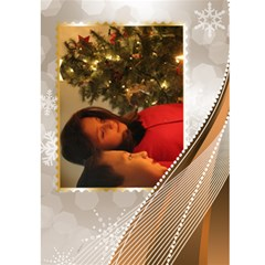 Seasons Greeting Card  5x7 (gold) By Deborah   Greeting Card 5  X 7    Pso1n7hgbv27   Www Artscow Com Front Inside