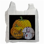 Happy Halloween Recycle Bag - Recycle Bag (One Side)