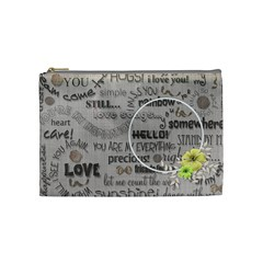 Love   Cosmetic Bag   Medium By Angel   Cosmetic Bag (medium)   Wo0pp2om52rb   Www Artscow Com Front