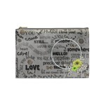 love - cosmetic bag - medium - Cosmetic Bag (Medium)