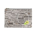 love - cosmetic bag - large - Cosmetic Bag (Large)