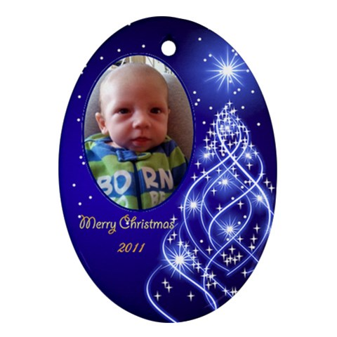 Ornament   Anthony By Kristin   Ornament (oval)   Tj1o0nzgqexw   Www Artscow Com Front
