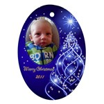 ornament - Anthony - Ornament (Oval)