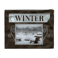 Winter Xl Cosmetic Bag By Lil    Cosmetic Bag (xl)   Xi7kxpk4gqfr   Www Artscow Com Back
