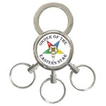 OES Lettered 3-Ring Key Chain