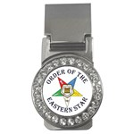 OES Lettered Money Clip (CZ)