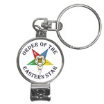 OES Lettered Nail Clippers Key Chain