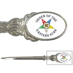 OES Lettered Letter Opener from ArtsNow.com Front