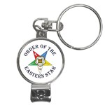 Oes Lettered New Bible Nail Clippers Key Chain