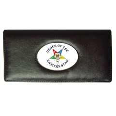 OES Lettered Long Wallet from ArtsNow.com Front