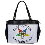 OES Lettered Oversize Office Handbag (One Side)