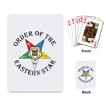 OES Lettered Playing Cards Single Design