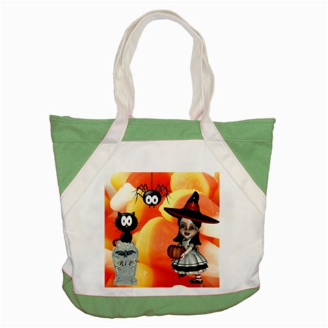 Halloween Tote Bag By Arlene   Accent Tote Bag   P2c1vxqhkrh4   Www Artscow Com Front