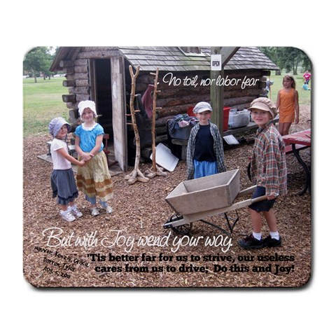 Grandpa R Mousepad 2 By Julie   Large Mousepad   Ljqaq6wh3x9y   Www Artscow Com Front