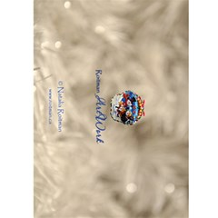 5x7 Cristmas Decor Back Cover