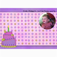 Irida Birthday Wish Card By Marka20300   5  X 7  Photo Cards   552pv4lztz8m   Www Artscow Com 7 x5 Photo Card - 2