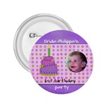irida birthday button - 2.25  Button