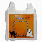 Recycle Bag (One Side): Halloween1