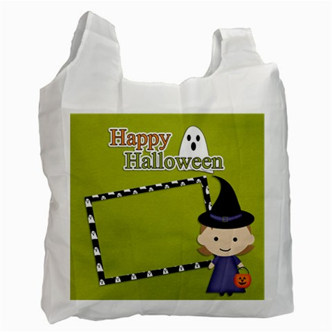 Recycle Bag (one Side): Halloween4 By Jennyl   Recycle Bag (one Side)   Yj4rblt2wjd6   Www Artscow Com Front