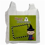 Recycle Bag (One Side): Halloween4