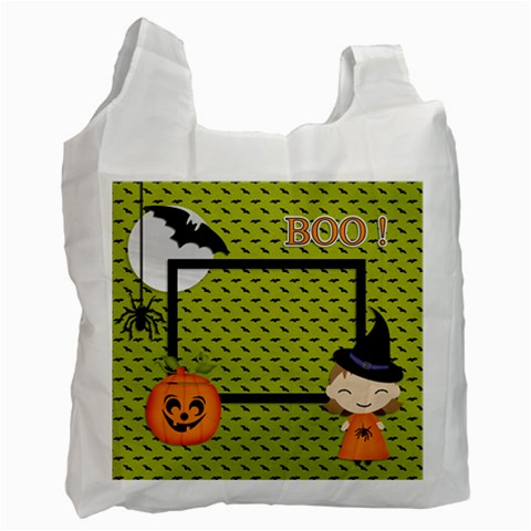 Recycle Bag (one Side): Halloween7 By Jennyl   Recycle Bag (one Side)   2rzld80v23vc   Www Artscow Com Front