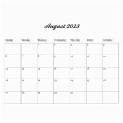 Floral Calendar Any Theme, 12 Months By Mikki   Wall Calendar 11  X 8 5  (12 Months)   7zizpnmzvsli   Www Artscow Com Apr 2013