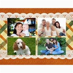 Floral Calendar Any Theme, 12 Months By Mikki   Wall Calendar 11  X 8 5  (12 Months)   7zizpnmzvsli   Www Artscow Com Month