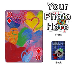Tzip Cards By Esti Kaufman   Playing Cards 54 Designs   Qovyzxgs84og   Www Artscow Com Front - Diamond10