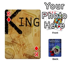 King Tzip Cards By Esti Kaufman   Playing Cards 54 Designs   Qovyzxgs84og   Www Artscow Com Front - DiamondK